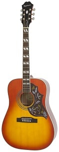 Epiphone HUMMINGBIRD PRO Solid Top Acoustic Electric Guitar