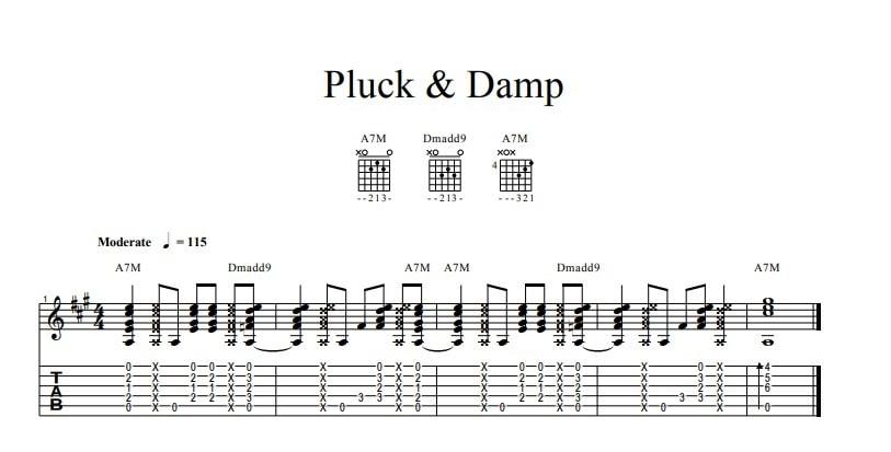 Pluck&Damp