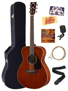 Yamaha FS850 Solid Top Small Body Acoustic Guitar