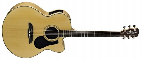 Alvarez Artist Series AJ80CE Jumbo Acoustic - Electric Guitar