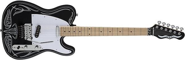 Dean USA Tracii Guns Signature NashVegas Electric Guitar Black