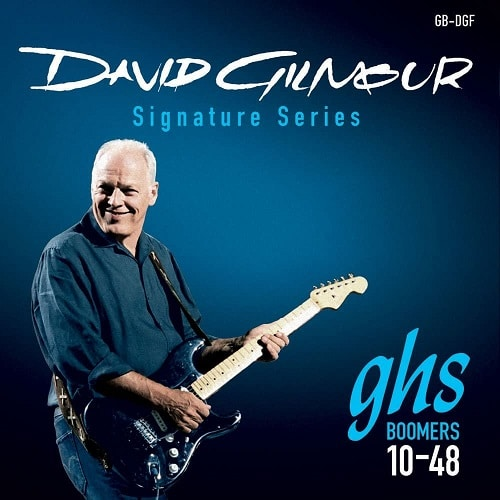 GHS Strings GB-DGF David Gilmour Signature Series, Nickel-Plated Electric Guitar Strings